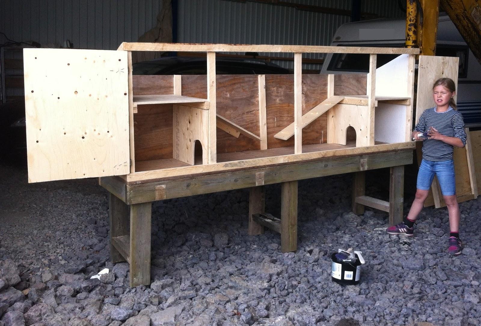 bygga kaninbur