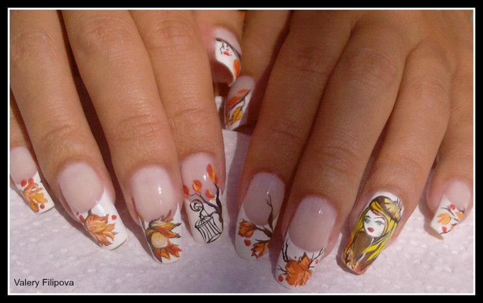 Nail Art Hand Painted Nail Art
