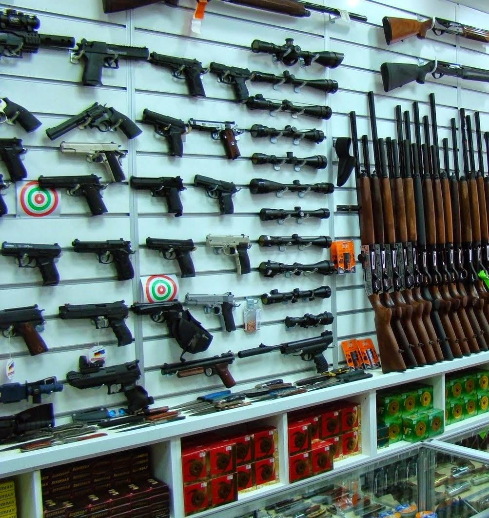 Venda armas de fogo