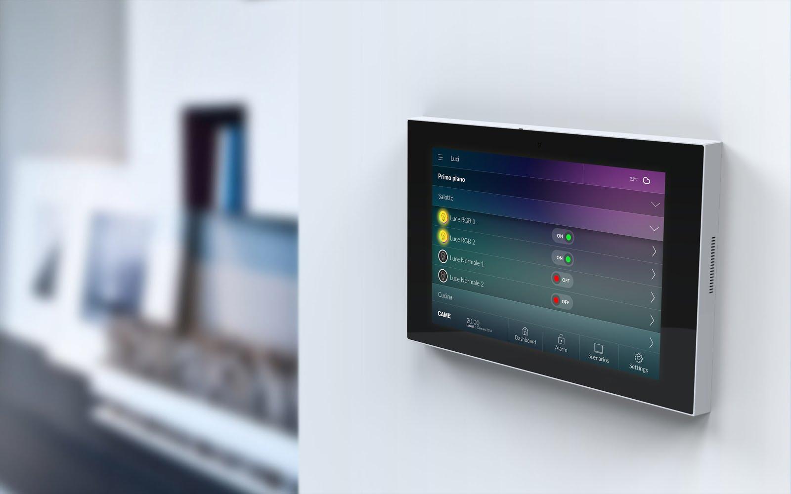 Arredo e design came domotic 3 0 una tecnologia - Tecnologia per la casa ...