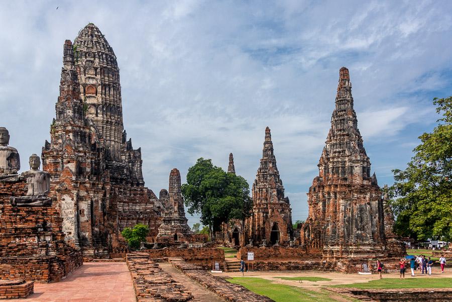From Ayutthaya to Bangkok