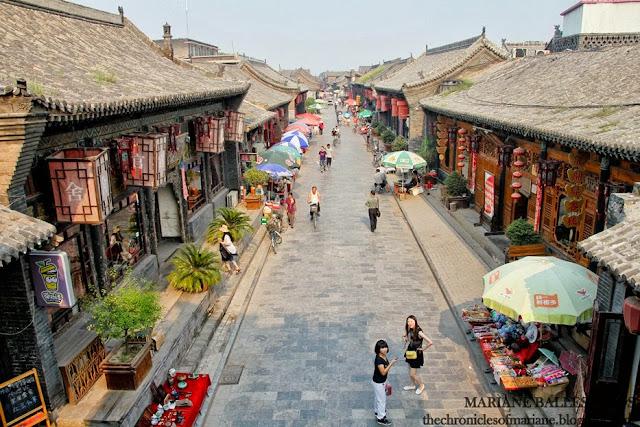Ming Qing Street pingyao