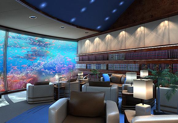 Arquitectura moderna hotel bajo el agua for Como se llama el hotel que esta debajo del mar