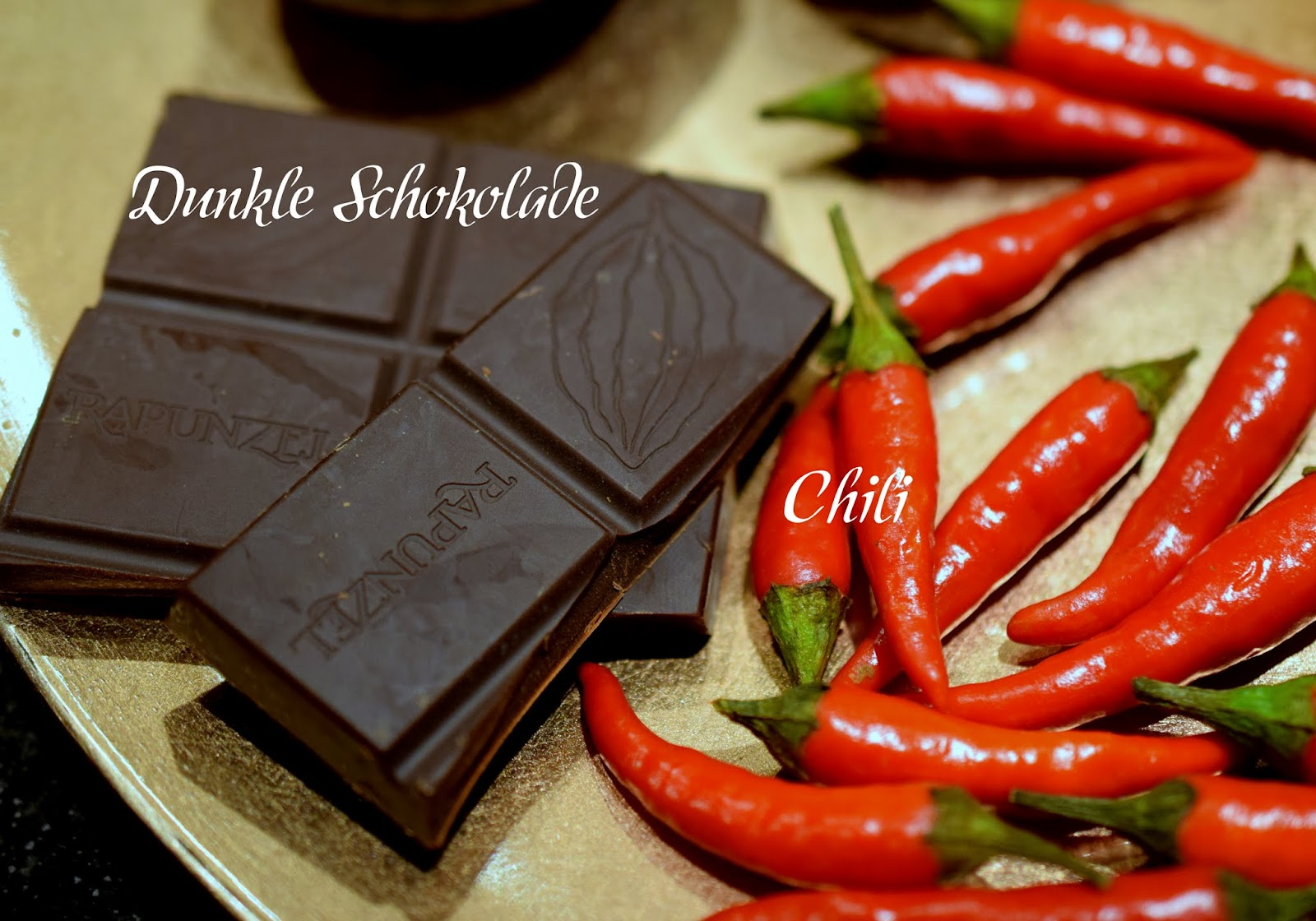 Top 10 Mood Foods Dunkle Schokolade Chili