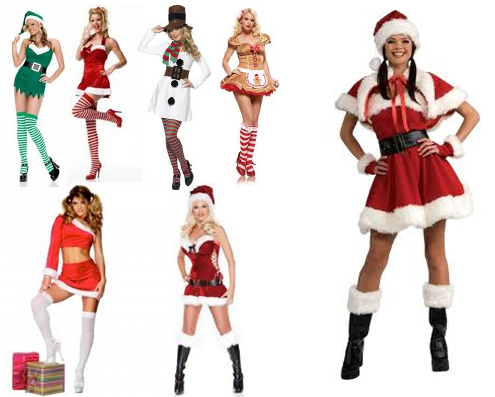 Ideas For Christmas Party Outfit Part - 48: Hot Christmas Costume Ideas For Girls