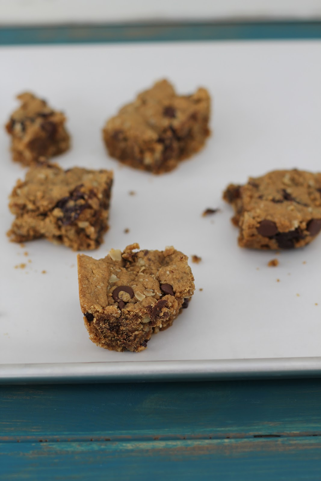... Now Doughvelopment: Peanut Butter Cherry Chocolate Chunk Oatmeal Bars