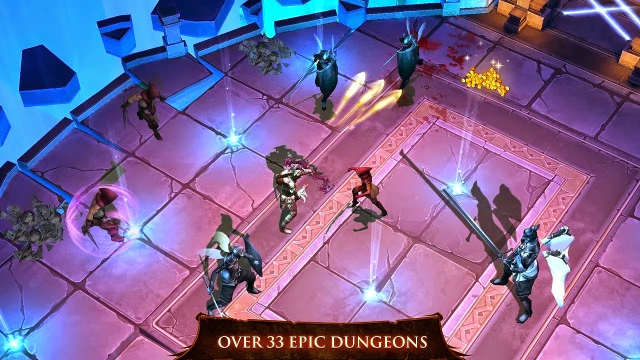Dungeon Hunter 4 v1.8.0k Mod [Unlimited Gems]