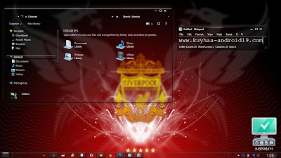 THEME LIVERPOOL WINDOWS 7 GLASS