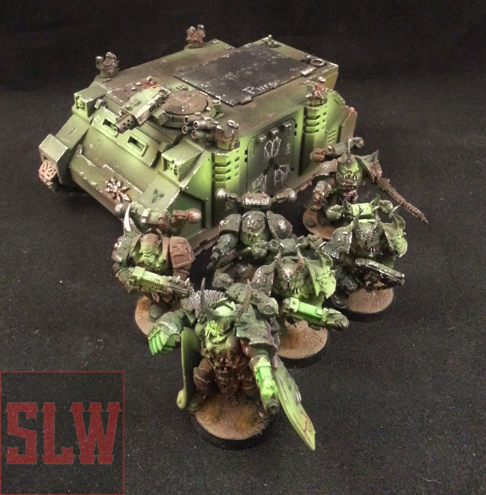 smells like wargaming 2 12 15 showcase for sale nurgle chaos space marines army. Black Bedroom Furniture Sets. Home Design Ideas