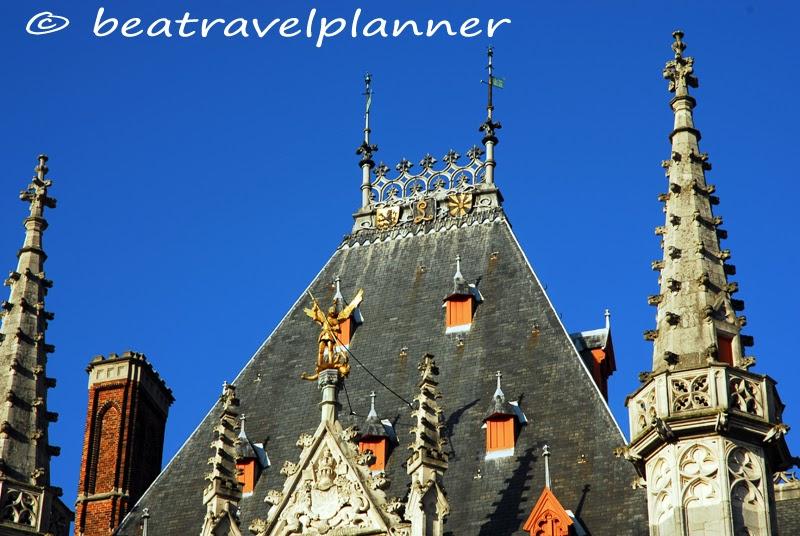 Bruges - Palazzo della Provincia (Particolare)