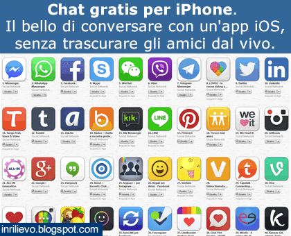 chat gratis iphone