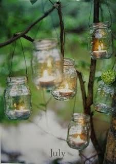 verre idées bouteille de jardin