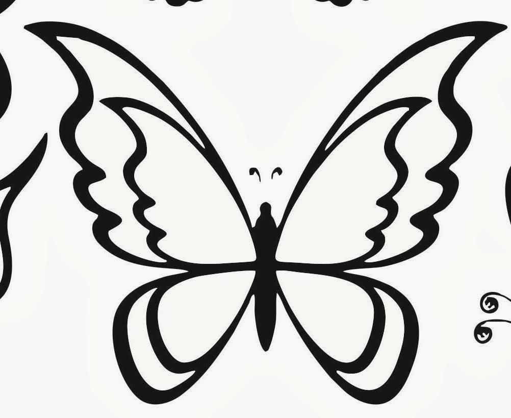 desenhos para colorir e imprimir desenhos de borboletas para