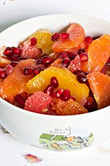 Pomelo & Pomegranate Citrus Salad