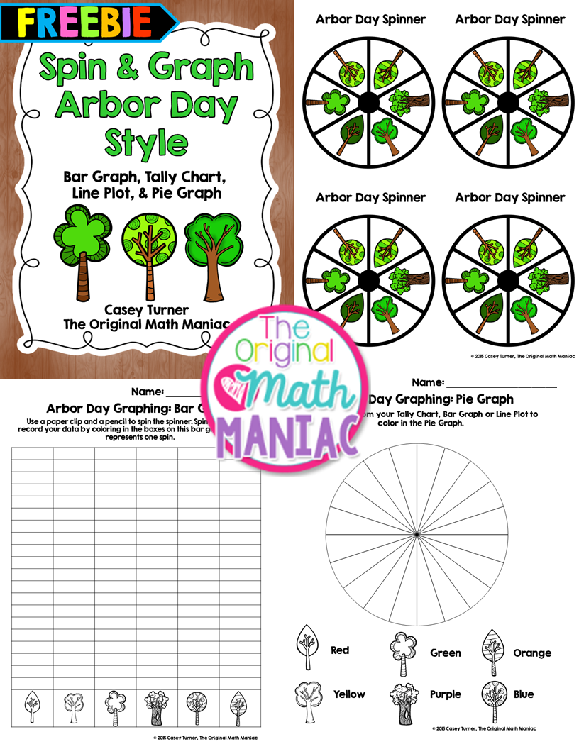 https://www.teacherspayteachers.com/Product/Spin-Graph-Arbor-Day-Style-FREEBIE-1802805