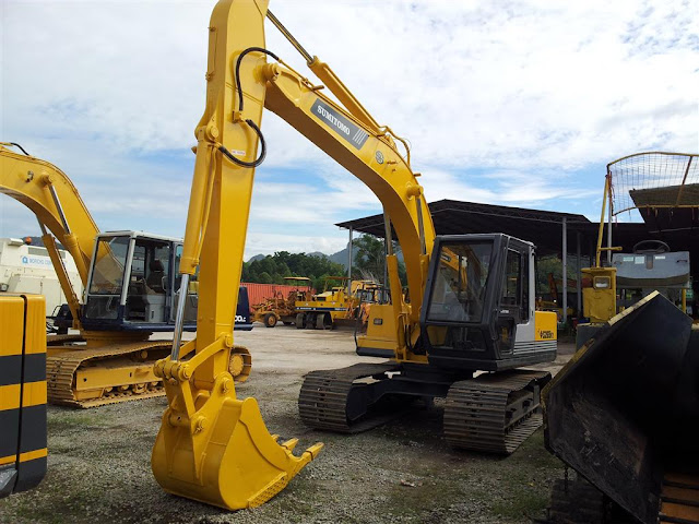 Sumitomo S265F2 Excavator SSL Heavy Machinery Ipoh