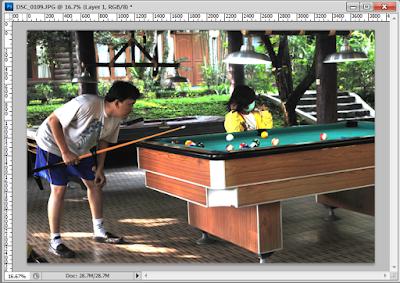 Cara Mencerahkan Gambar Gelap dengan Photosop