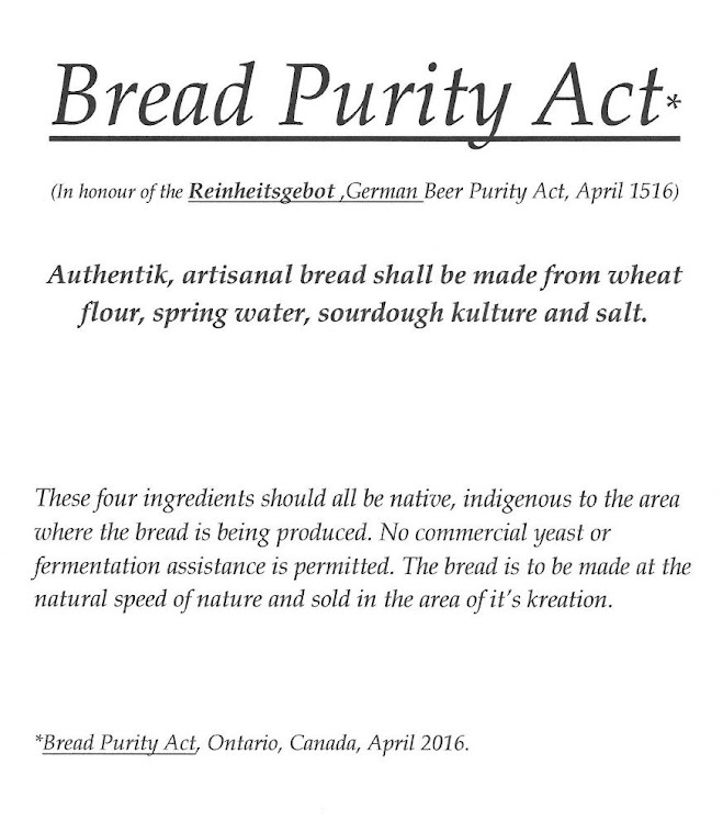 Bread Purity Act