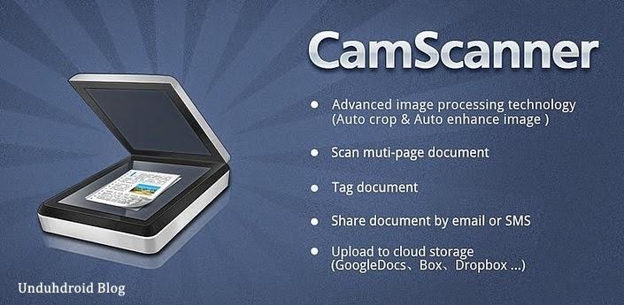 Membuat Android sebagai Scanner dengan CamScanner