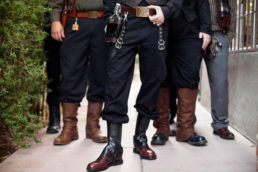 men steampunk boots