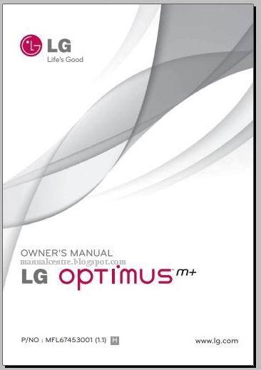 Lg Optimus M  Ms695 Manual    User Guide And Settings
