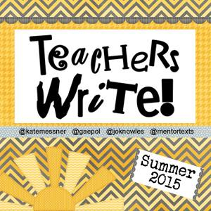 Teachers Write 2015