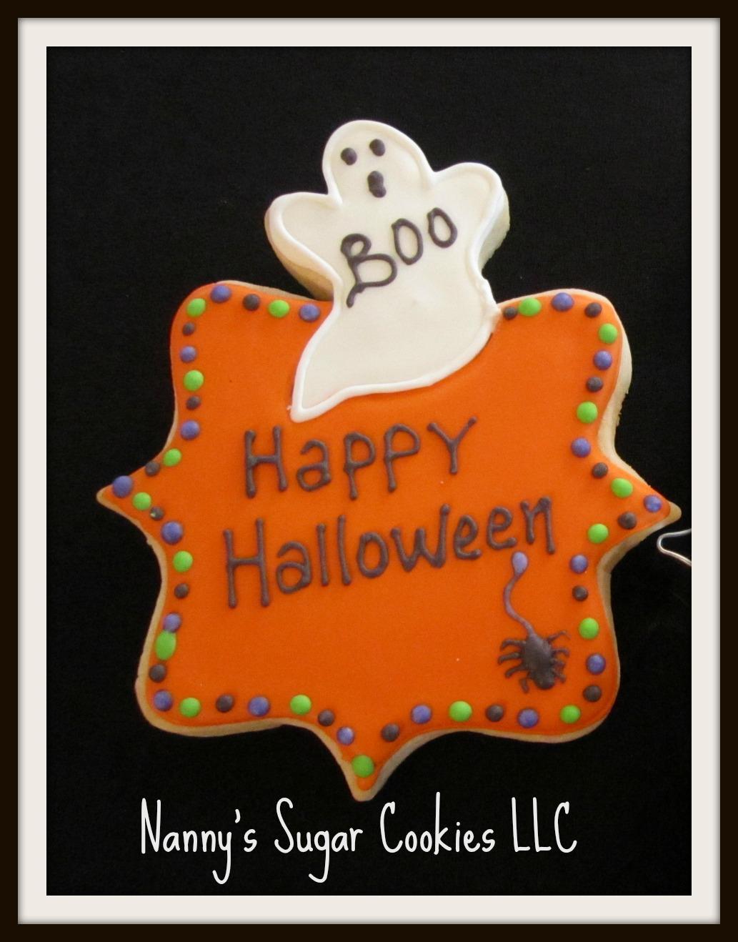 Nanny's Sugar Cookies LLC: October 2012