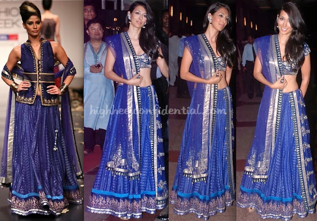 From runway to sangeet - Bollywood Fashion @ Esha deols Sangeet