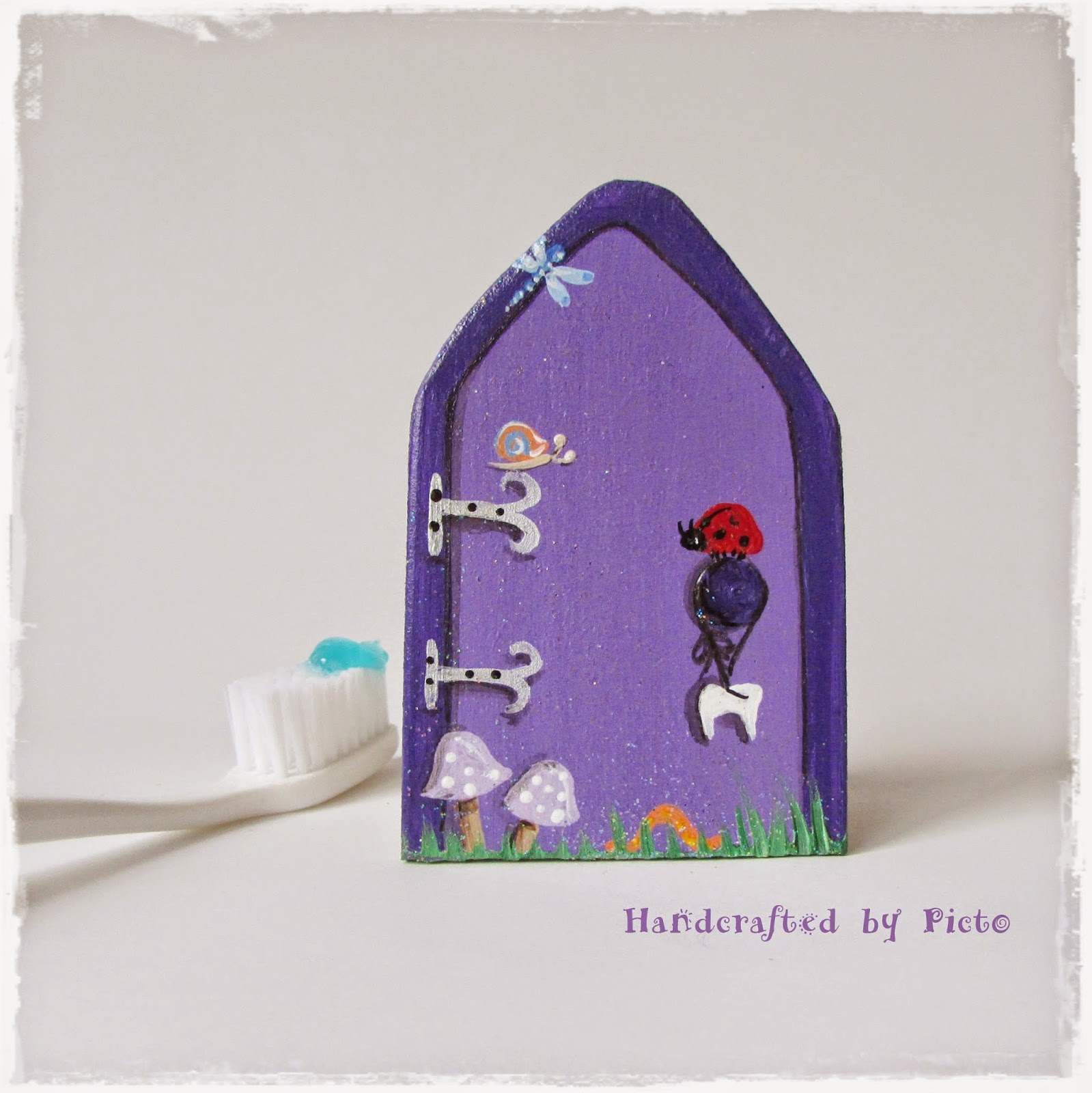 Handcrafted by picto for Fairy door handles