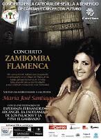 Concierto de villancicos flamencos a beneficio de Cáritas el 16 de diciembre de 2011