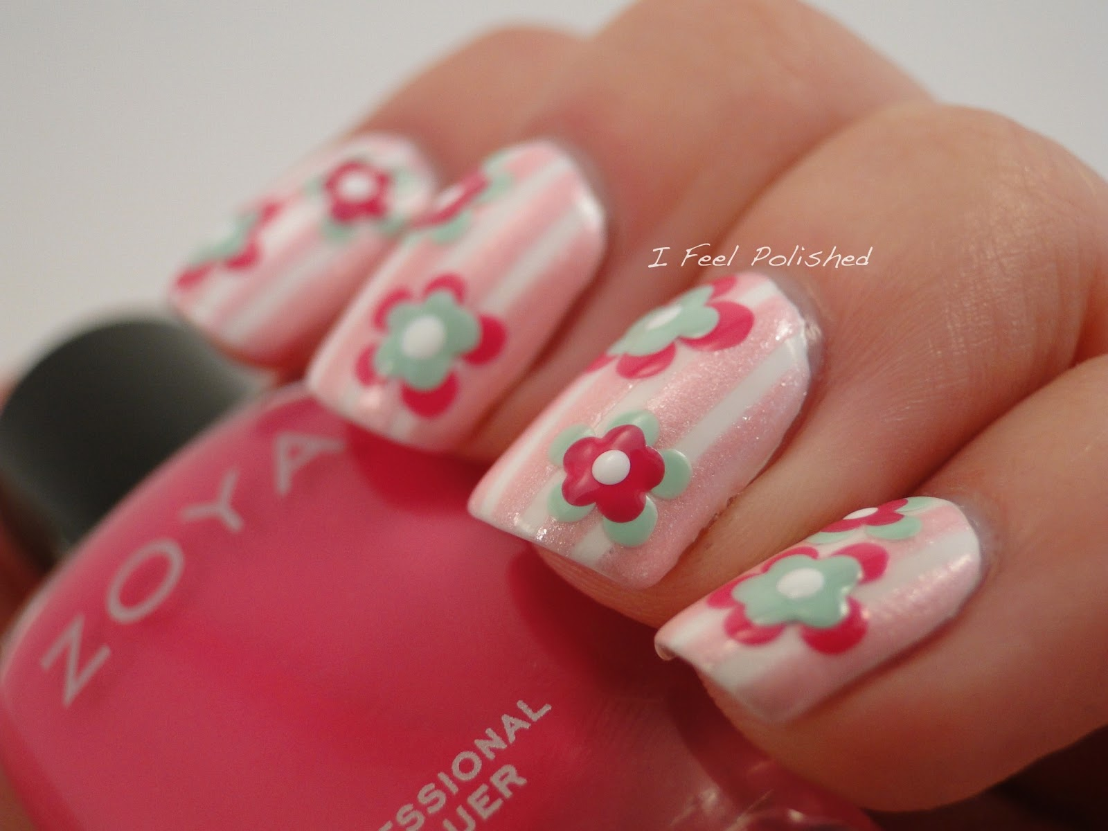 I Feel Polished!: February Challenge: Flowers