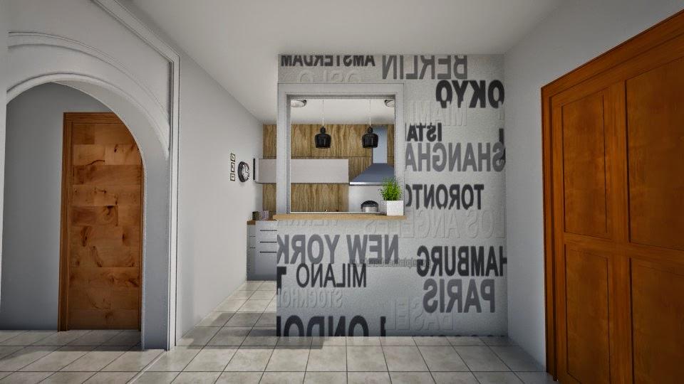 Déco  ideas : separar la cocina de la sala en piso pequeÑo