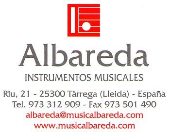 Instrumentos Musicales Albareda
