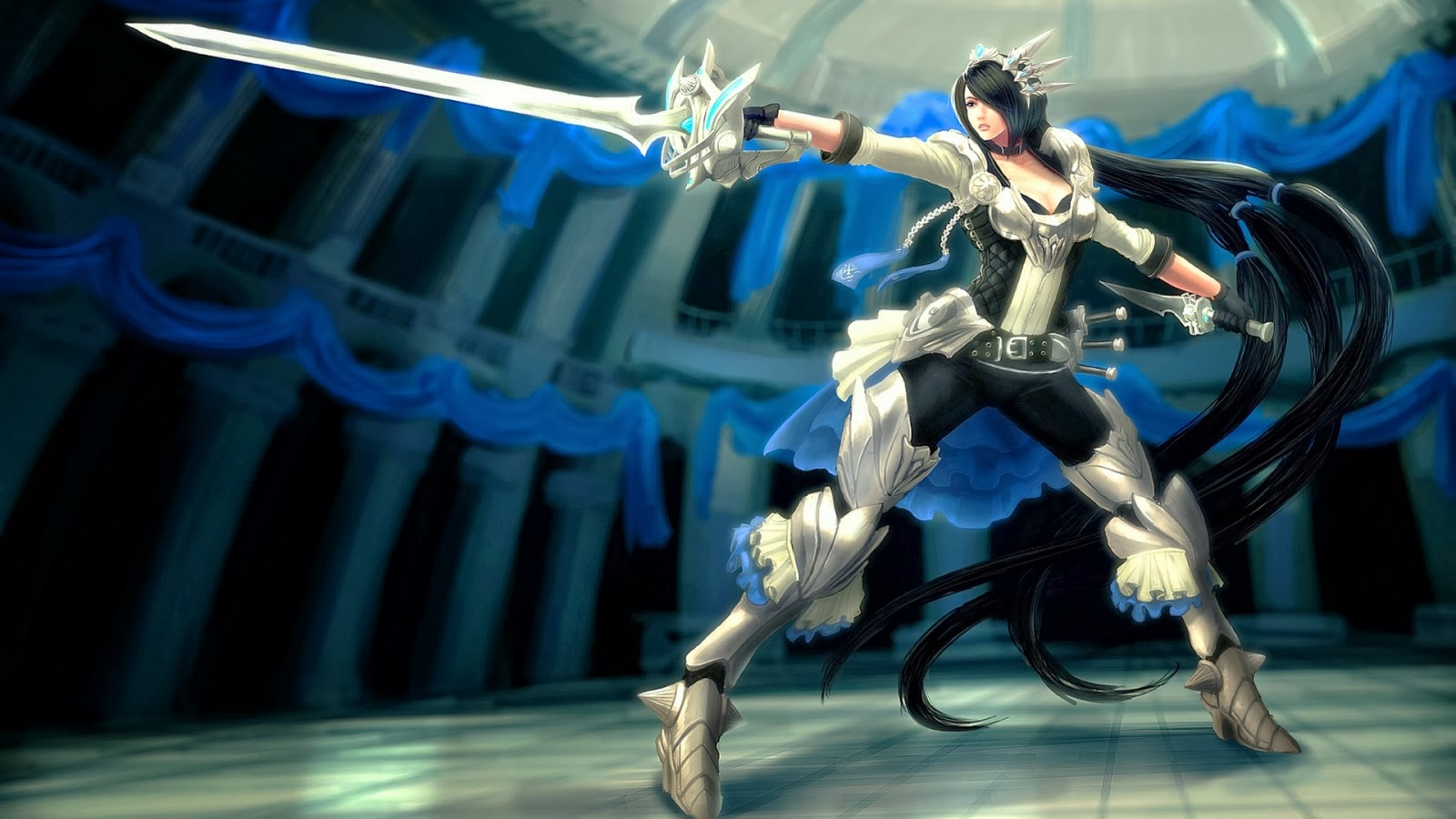 Fiora League of Legends Wallpaper