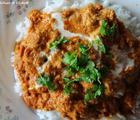 Indian Butter Chicken (family fave)