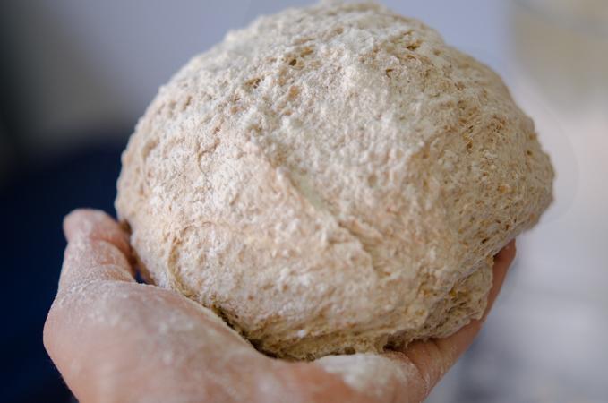 No Knead Bran Bread 7 | Korean Recipes