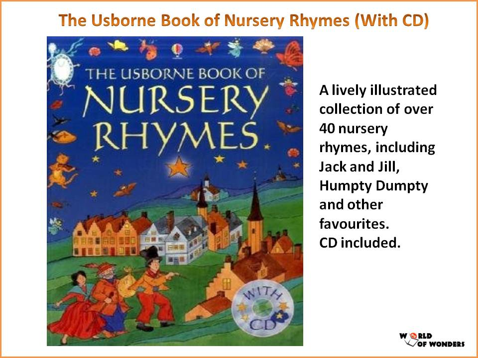 The Usborne Book Of Nursery Rhymes With Cd