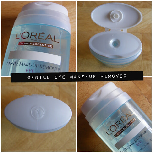 A picture of L'Oreal Dermo Expertise Gentle Eye Make Up Remover.