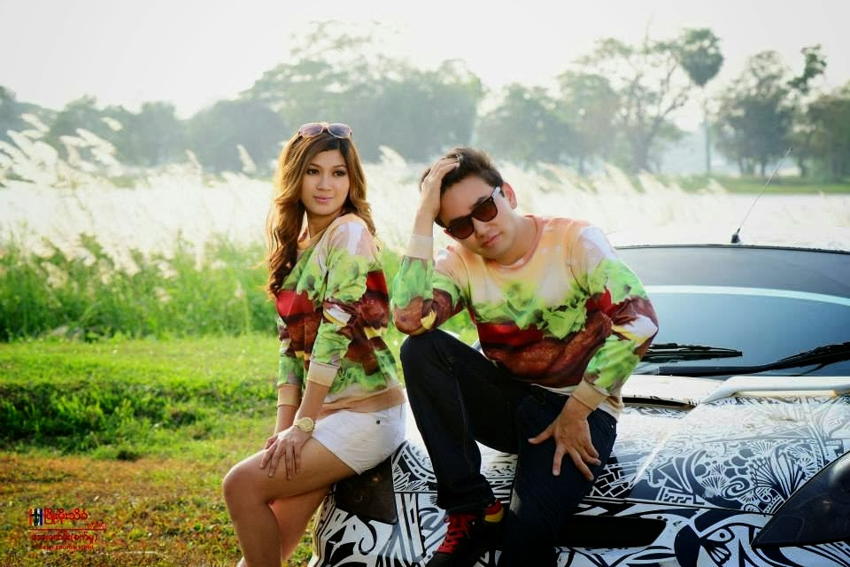 Myanmar Model Yoon Mi Mi Kyaw
