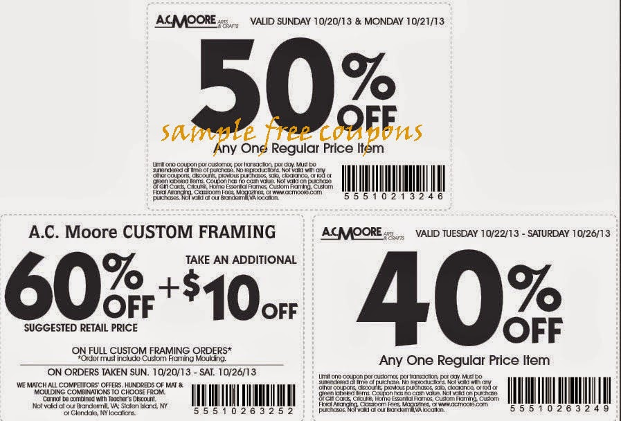image relating to Ac Moore Printable Coupon Blogspot identified as Ac moore discount codes blogspot / Panties com coupon code