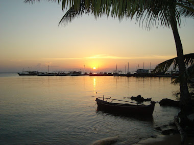 Sunset di Pulau Parang
