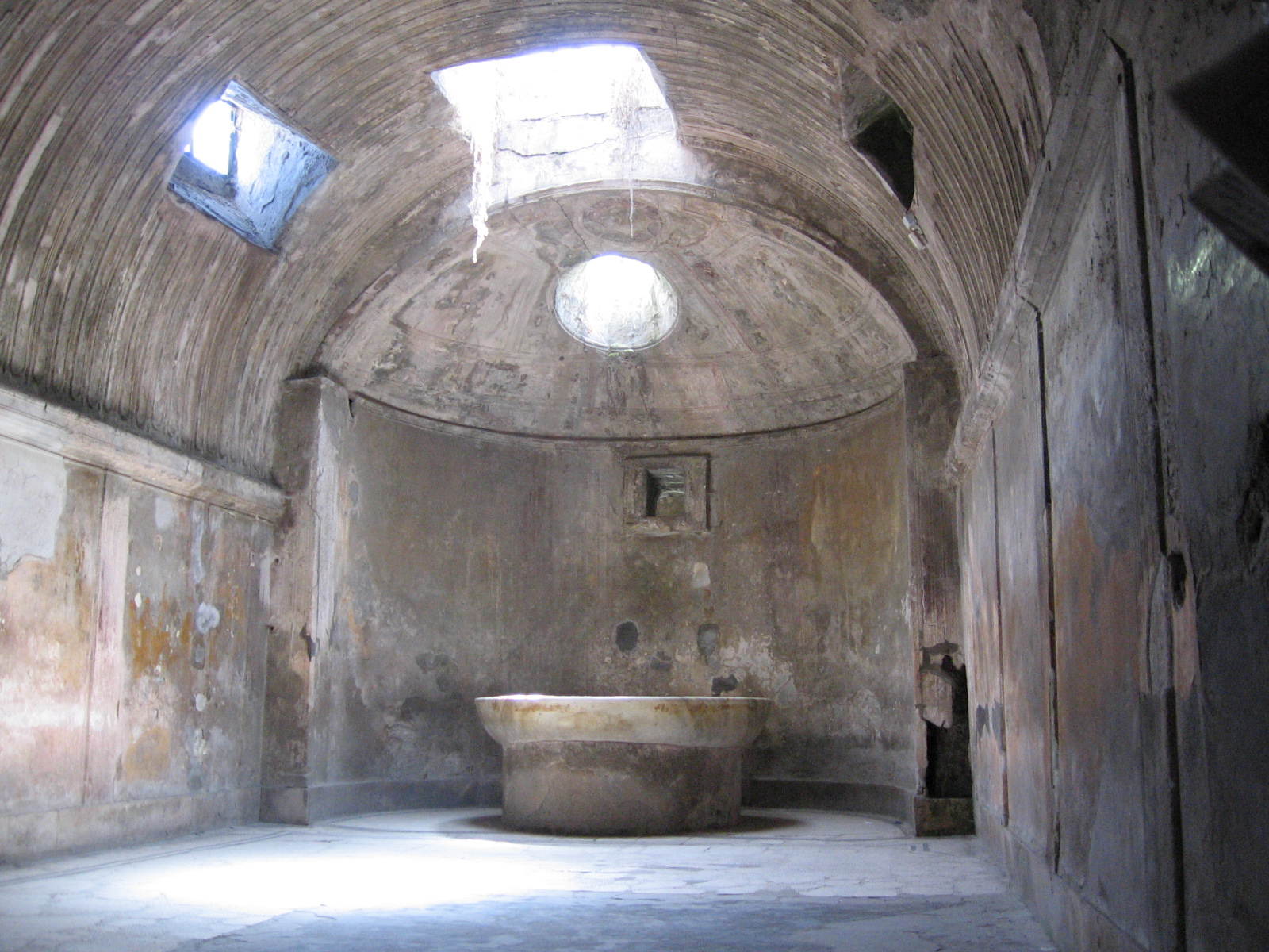 Baños Romanos Andalucia:HISTORIA DEL ARTE: Termas y arquitectura doméstica