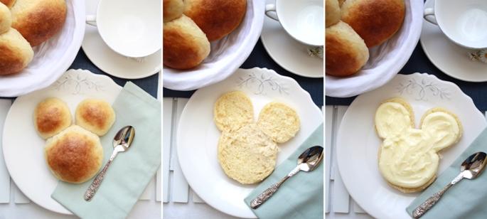 mickey mouse, bollo, mantequilla, bollo de mantequilla de bilbao, receta