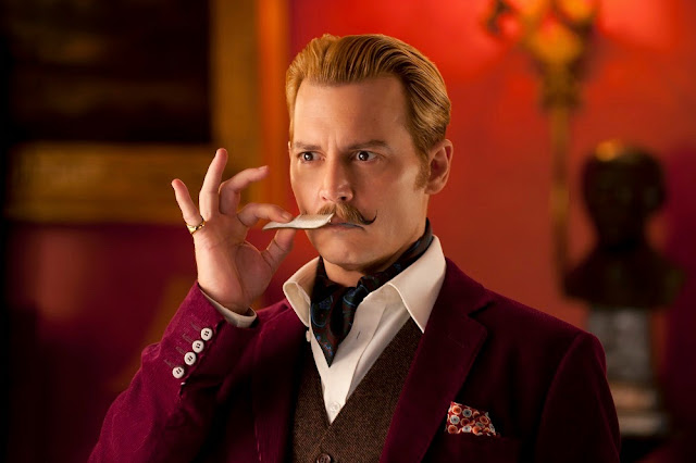 Mortdecai Johnny Deep