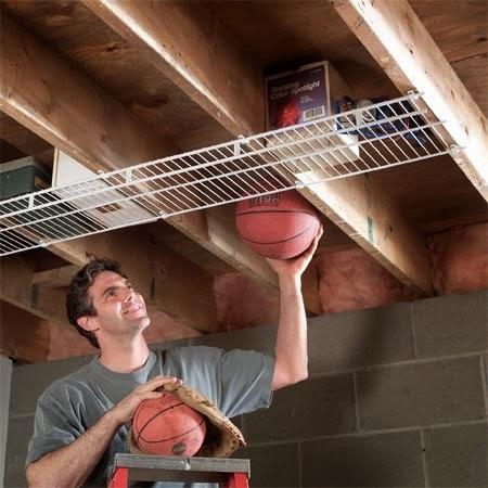Tu organizas como organizar um quarto de bagun a - Idee de rangement pour garage ...