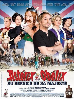 Asterix e Obelix A Serviço de sua Majestade (Dublado) DVDRip RMVB