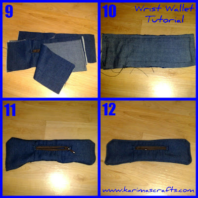 wrist wallet tutorial