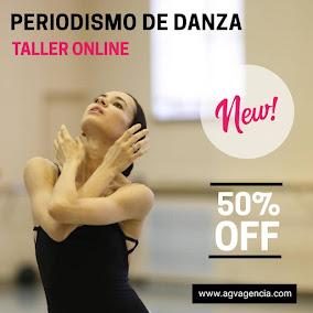 TALLER DE PERIODISMO DE DANZA
