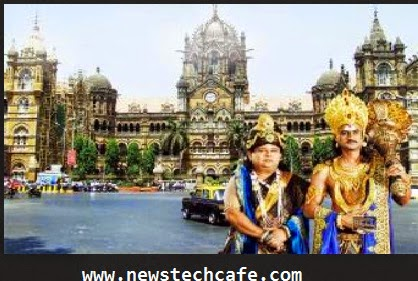 Yamraj and Chitragupt in Mumbai :- Yam Hai Hum Serial on Sab tv