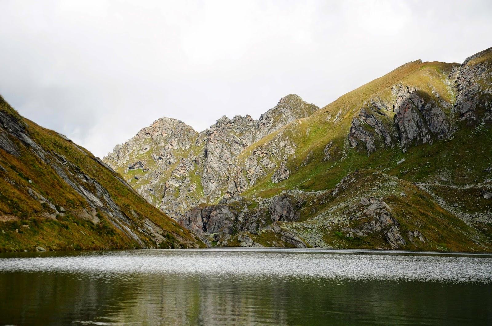 Lac des Vaux Verbier randonnée andar Les Ruinettes
